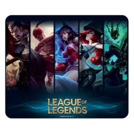 Tapete para Rato Flexível League of Legends - Champions