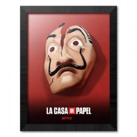 Quadro La Casa de Papel - Mask