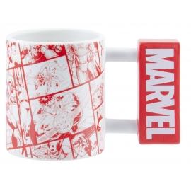 Caneca 3D Marvel Logo