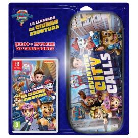 Pack Paw Patrol: Adventure City Calls PS4 + Bolsa de Transporte Switch