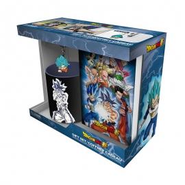 Pack Caneca + Porta-Chaves + Caderno Dragon Ball Super - Goku