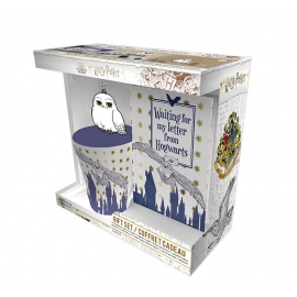 Pack Caneca + Porta-Chaves + Caderno Harry Potter - Hedwig