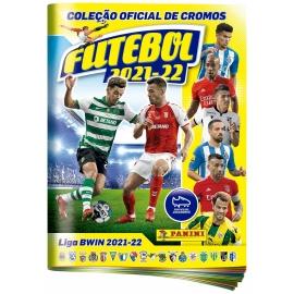 Caderneta de cromos Panini Futebol 2021/22