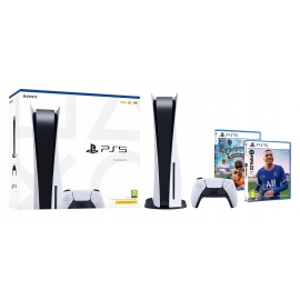 Pack PS5 Sport Kids - Consola Playstation 5 + FIFA 22 PS5 + Sackboy PS5 (Ver Notas)