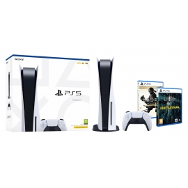 Pack PS5 Hardgamer - Consola Playstation 5 + Returnal PS5 + Ghost of Tsushima PS5 (Ver Notas)