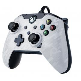 Comando PDP Wired Ghost White Camo - Xbox Series S | X