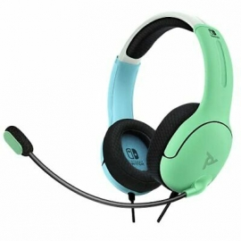 Headset PDP Gaming LVL40 Wired - Azul e Verde