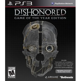 Dishonored Game of the Year Edition (Seminovo)  PS3