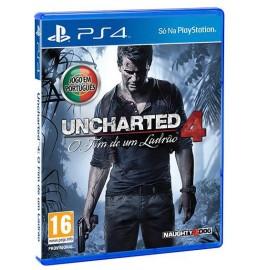 Uncharted 4 O Fim de um Ladrão (Seminovo) PS4 (Em Português)