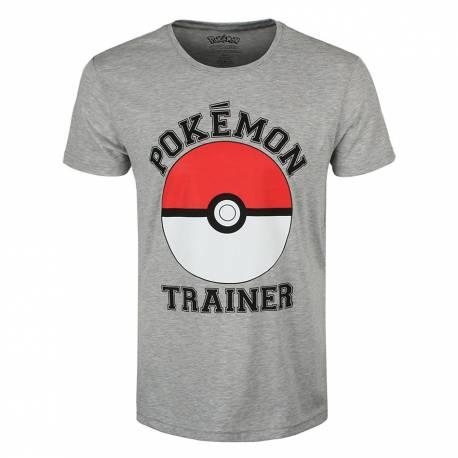 T-shirt Pokémon Trainer Tamanho S