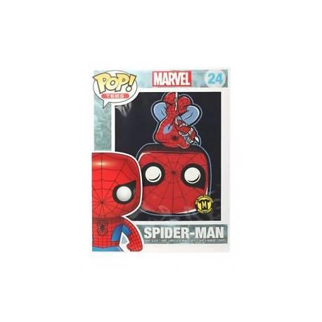 POP! Tees: Marvel Spider Man Limited Edition 24 - Tamanho L