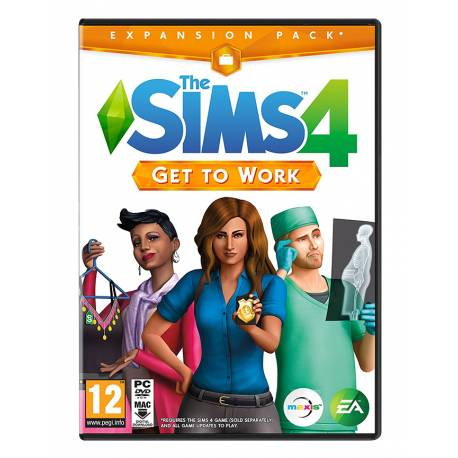 The Sims 4 Get to Work Expansion Pack PC