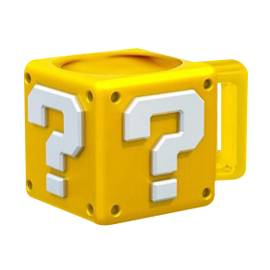 Caneca Super Mario - Question Block