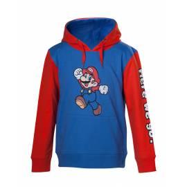 Camisola Nintendo Mario Here We Go  Tamanho 4 - 6 Anos