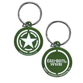 Porta-Chaves Call of Duty WWII Freedom Star Spinner