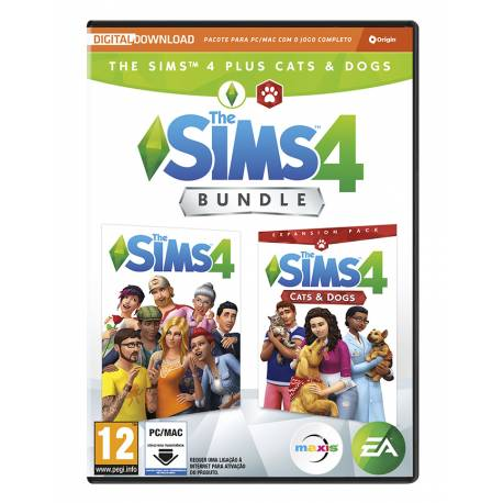 Pack The Sims 4 + Cats and Dogs Expansion Pack PC