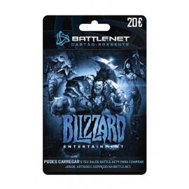 Cartão Presente Blizzard Battlenet 20€ (Digital) - (Envio por Email)