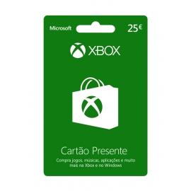Cartão Presente Xbox 25 Euros (Digital) - (Envio por Email)