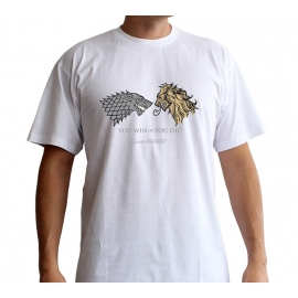 T-shirt Game of Thrones Lannister Vs. Stark - Tamanho S