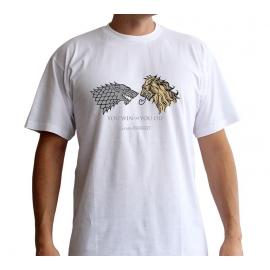 T-shirt Game of Thrones Lannister Vs. Stark - Tamanho M