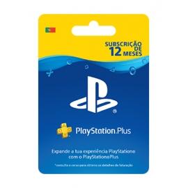 Cartão PlayStation Plus - Subscrição 365 dias (12 Meses) - (Cartão Fisico)