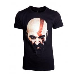 T-shirt God of War - Kratos Face - Tamanho S