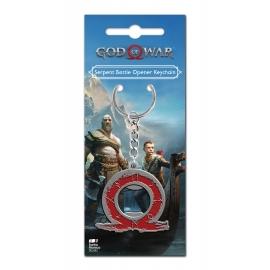 Porta-Chaves Oficial God Of War - Serpent Bottle Opener