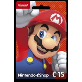 Cartão Nintendo eShop 15 Euros (Físico)