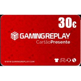 Cartão Presente GAMINGREPLAY 30€