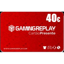 Cartão Presente GAMINGREPLAY 40€