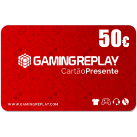 Cartão Presente GAMINGREPLAY 50€