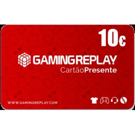 Cartão Presente GAMINGREPLAY 10€