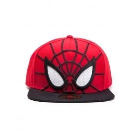 Boné Marvel Spider-Man Mesh White Eyes 3D