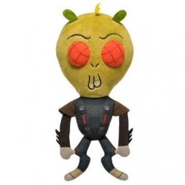 Peluche Galatic Rick and Morty Krombopulous Michael