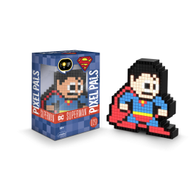 Pixel Pals - DC Superman 029 Figura Colecionavel com Luz