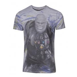 T-Shirt Avengers: Infinity War Thanos - Tamanho S