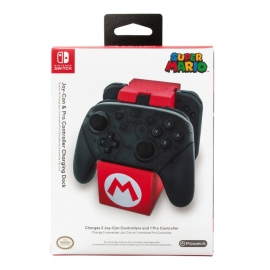 Joy-Con & Pro Controller Charging Dock Super Mario Switch