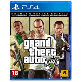Grand Theft Auto 5 - Premium Online Edition PS4