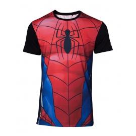 T-shirt Marvel Spiderman Subliminada - Tamanho L
