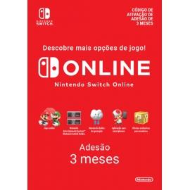Subscrição 90 Dias Switch (Individual) (Nintendo Digital)