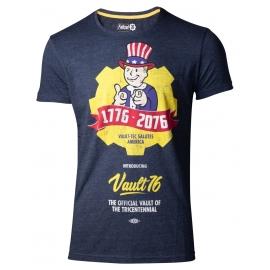T-shirt Fallout 76: Vault 76 Poster - Tamanho S