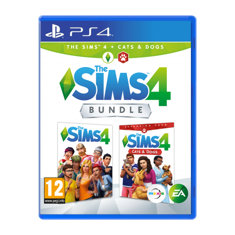 The Sims 4 + Cats and Dogs Expansion Pack PS4