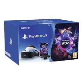 Bundle Pack PlayStation VR + Câmara +  Jogo VR Worlds