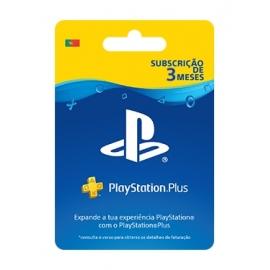 PlayStation Plus - 3 Meses (90 dias) - (Cartão Fisico)