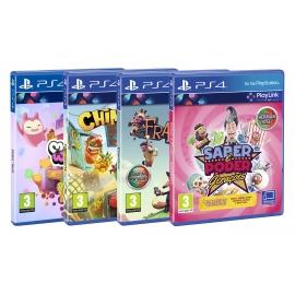 Pack Playlink -  Saber é Poder: Gerações + Chimparty + Melbits + Frantics PS4