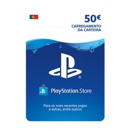 Cartão Playstation Network (PSN) - 50€ - (Cartão Fisico)