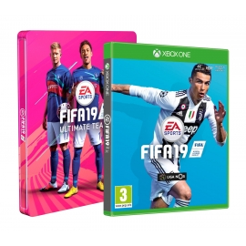 FIFA 19 Standard Edition Xbox One - Oferta Steelbook e DLC