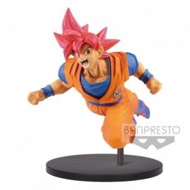 Figura Dragon Ball Z - Super Saiyan God Son Goku