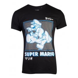 T-Shirt Nintendo Super Mario Running With Yoshi