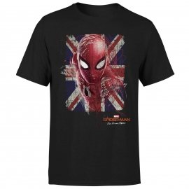 T-shirt Spider-Man: Far From Home - British Flag